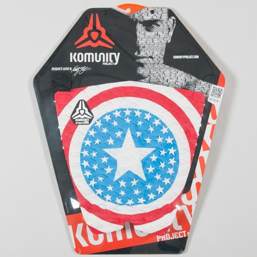 Komunity USA Flag 1 piece (Blue/White/Red) Tailpad