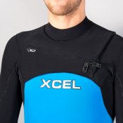Xcel Mens 2mm Infiniti Comp Long Sleeve (Blue) Wetsuit