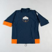 Rip Curl Kids Aggro Short Sleeve (Navy)