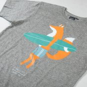 Maluku Fox T-Shirt (Heather Grey)