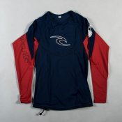 Rip Curl Bomb Long Sleeve (Navy/Red)