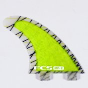 FCS Mick Fanning MF-2 Thruster  (Green)