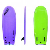 Catch Surf Beater Twin Fin (Purple/Lime)