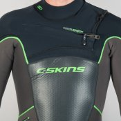 C-Skins Mens 5mm Hot Wired (Grey/Black) Wetsuit