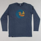 Rip Curl Snow & Water L/S Tee (Insignia Marle)