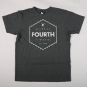 Fourth Hex Logo Tee (Charcoal Marle)