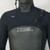 Xcel Mens 4mm Infiniti Hooded (Black) Wetsuit