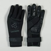 Xcel 3mm 5 finger infiniti Glove (Black)