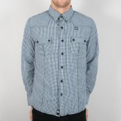 Rhythm M 101 Shirt (Blue Check)