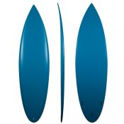 Eps Rounded Pin Shortboard (Teal)